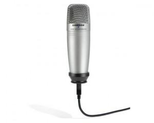 Samson C01U condenser USB microphone