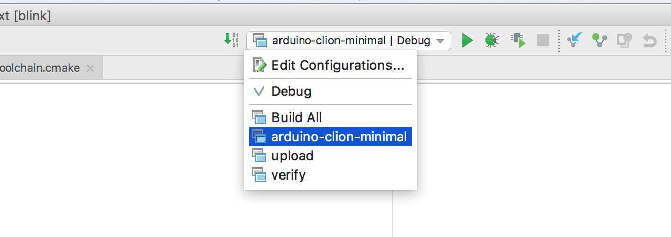 Developing Arduino sketches with JetBrains CLion: A minimal example
